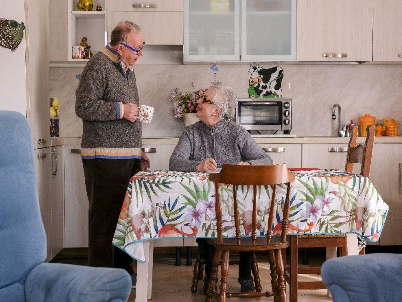 un'immagine di vita quotidiana nel residence