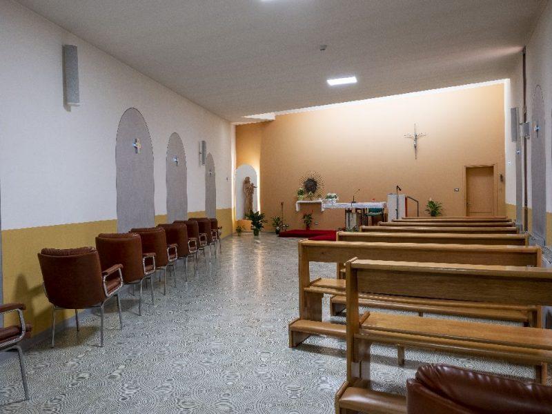 particolare della cappella interna