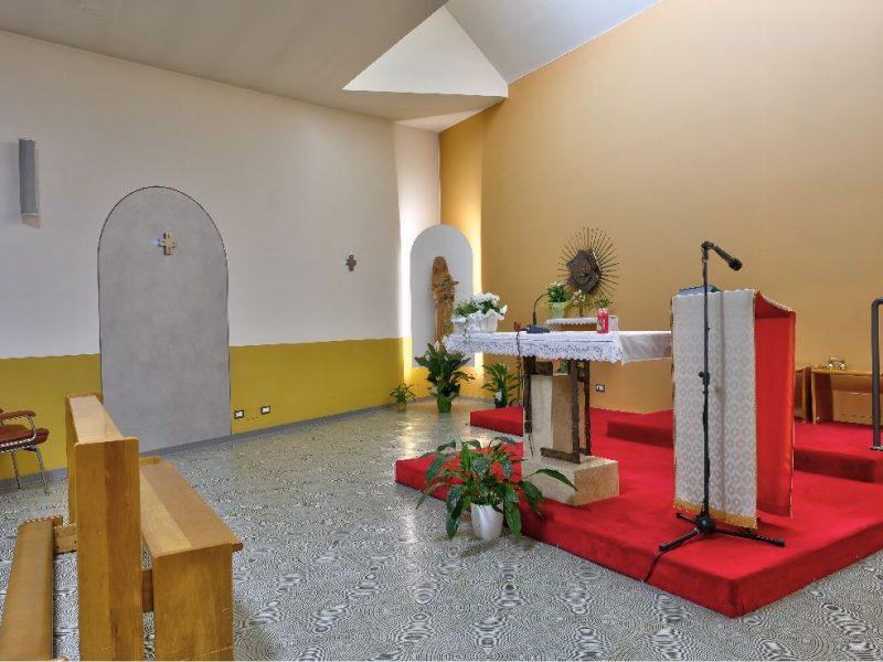 la cappella interna al Centro