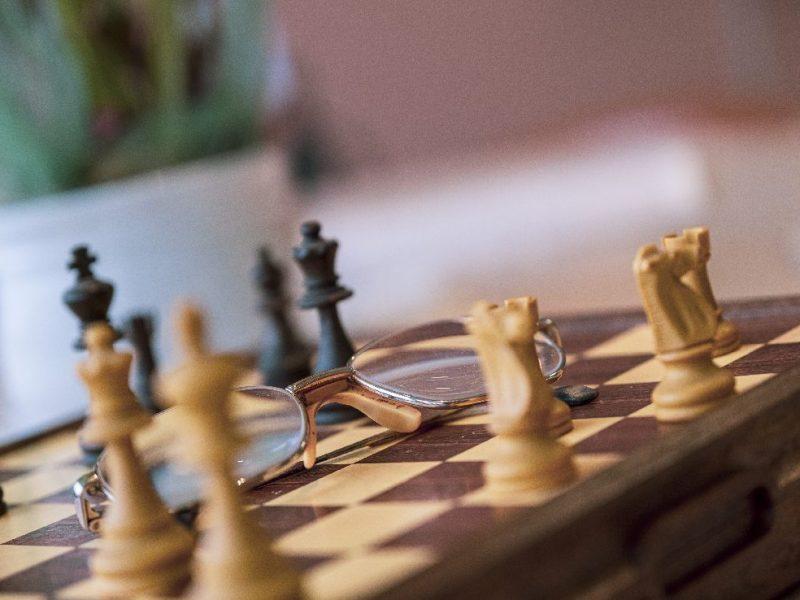 gioco degli scacchi a disposizione degli Ospiti
