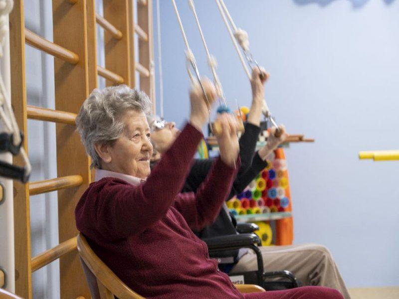 esercizi di riabilitazione in palestra